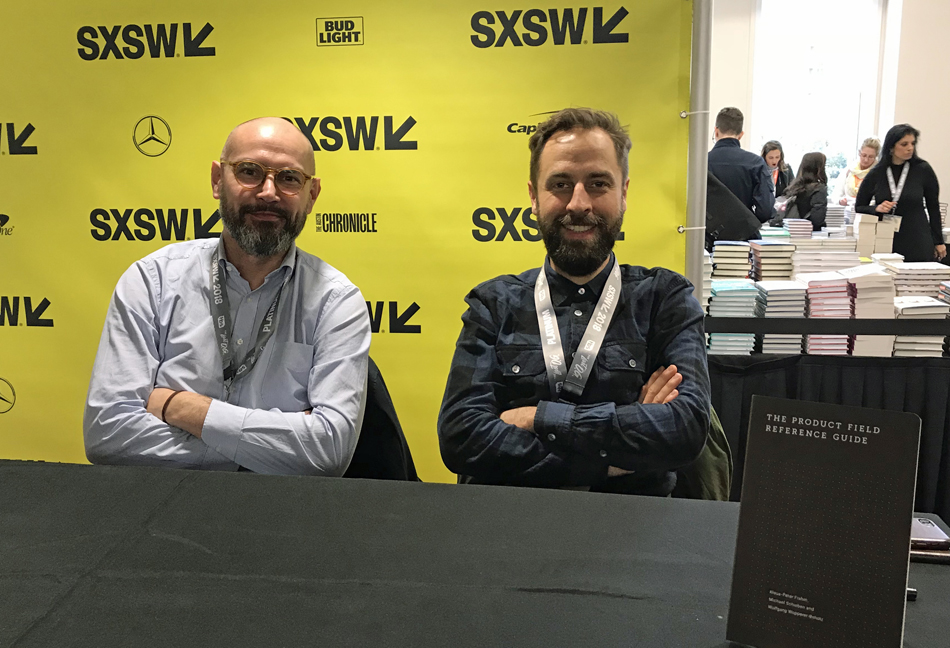 SXSW 2018 Klaus-Peter Frahm und Wolfgang Wopperer-Beholz