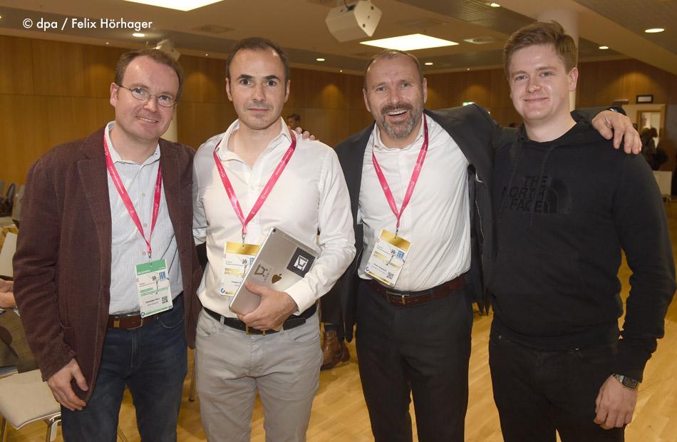 Peter Kropsch Medientage München Blockchain Diskussionsrunde