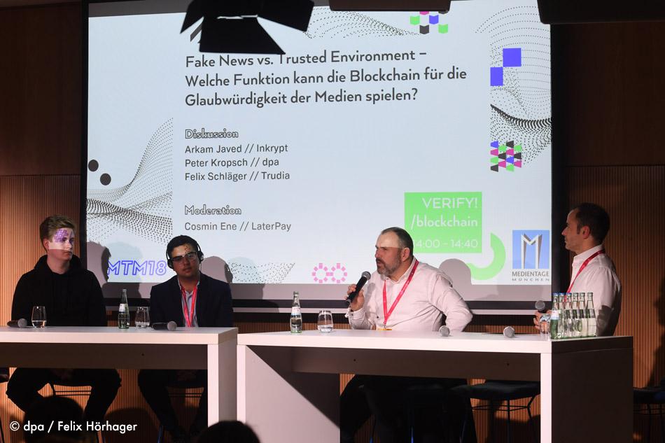 Peter Kropsch Medientage München Blockchain