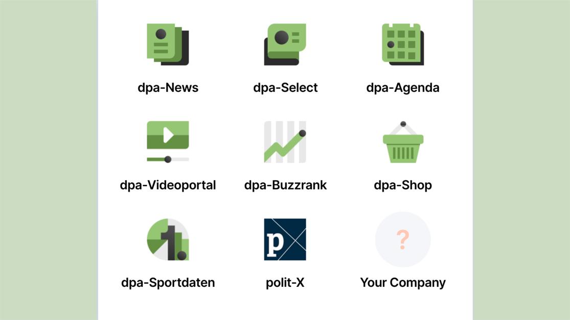 Digitalmarktplatz dpa ID