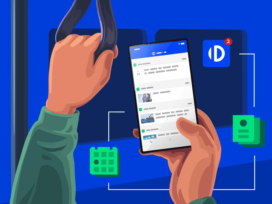 """""""dpa ID App"""" Nachrichtenzentrale Kommunikationsprofis"""